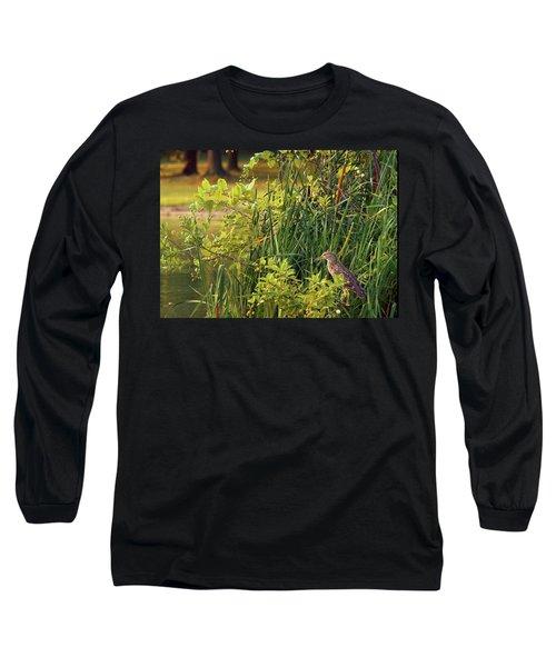 Hiden Long Sleeve T-Shirt