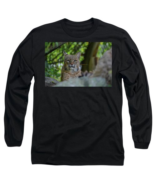 Hiding In The Rocks Long Sleeve T-Shirt