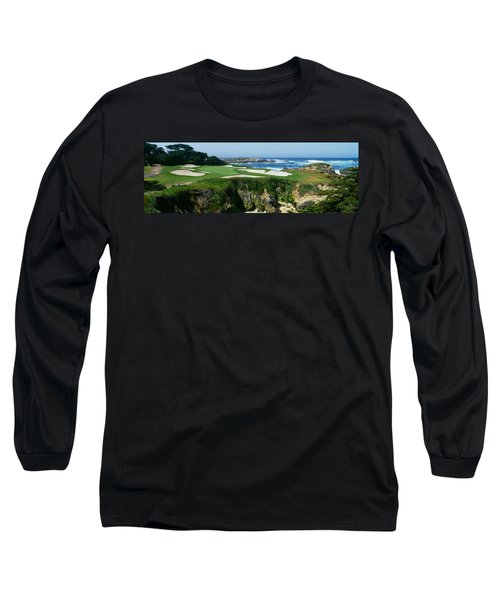 High Angle View Of A Golf Course Long Sleeve T-Shirt