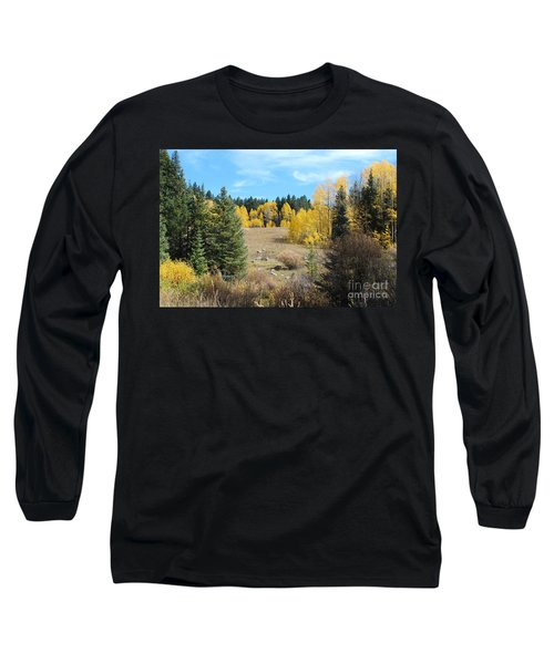 High Country Autumn Colors In Colorado Long Sleeve T-Shirt
