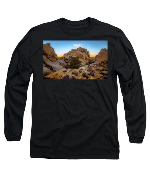 High Desert Pose Long Sleeve T-Shirt