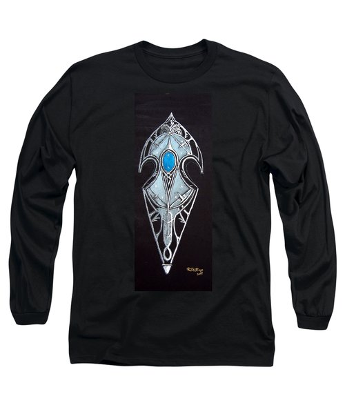 High Elven Warrior Shield  Long Sleeve T-Shirt