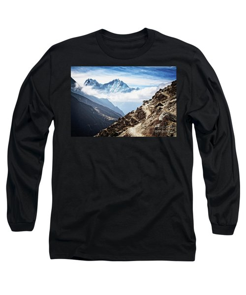 High In The Himalayas Long Sleeve T-Shirt