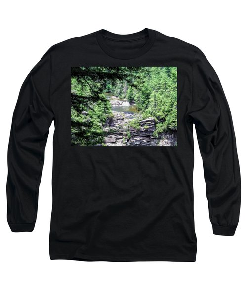 High View Of The Falls Long Sleeve T-Shirt
