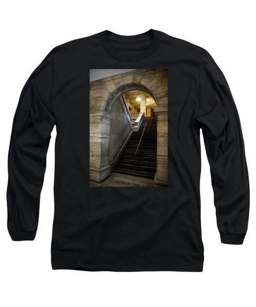 Long Sleeve T-Shirt featuring the photograph Higher Knowledge by Allen Carroll