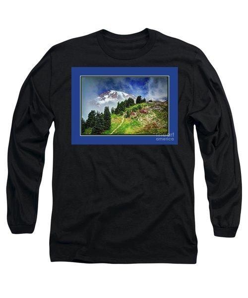 Hiking Rainier Long Sleeve T-Shirt