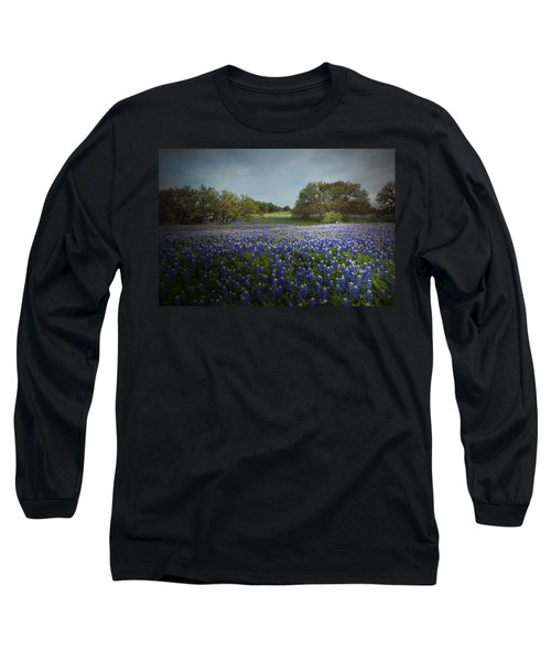 Hill Country Ranch Long Sleeve T-Shirt by Susan Rovira