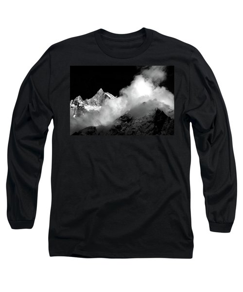 Himalayan Mountain Peak Long Sleeve T-Shirt