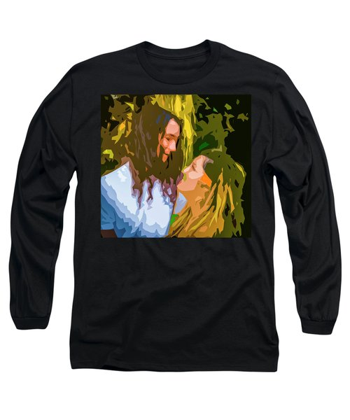 Hip Lovers Long Sleeve T-Shirt by Josy Cue