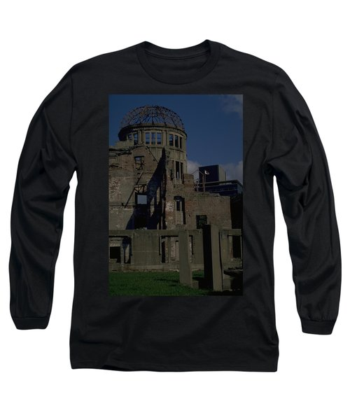 Long Sleeve T-Shirt featuring the photograph Hiroshima Peace Memorial by Travel Pics