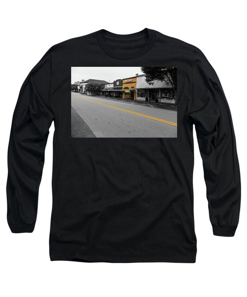 Historic Buford In Selective Color Long Sleeve T-Shirt