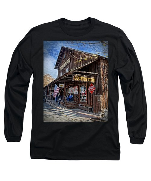 Historic Butte Creek Mill Long Sleeve T-Shirt by Mick Anderson