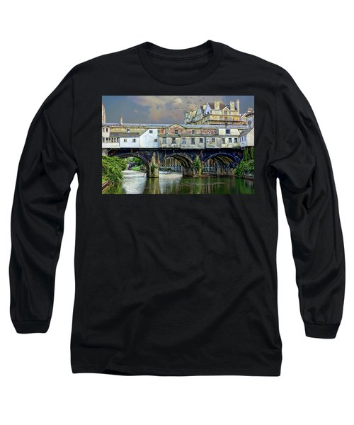 Historic Pulteney Bridge Long Sleeve T-Shirt