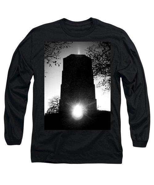 Historical Water Tower At Sunset Long Sleeve T-Shirt