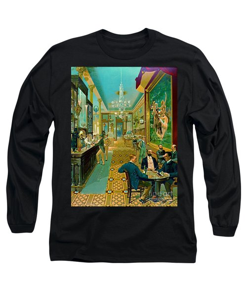 Hoffman House Bar 1890 Long Sleeve T-Shirt