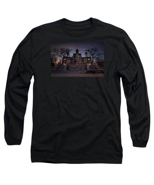 Hogwarts - Hall Of Languages Long Sleeve T-Shirt by Everet Regal