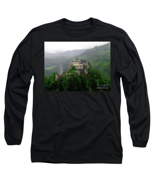 Hohenwerfen Castle Long Sleeve T-Shirt by Sheila Ping