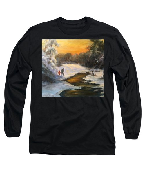 Holding My Father's Hand Long Sleeve T-Shirt