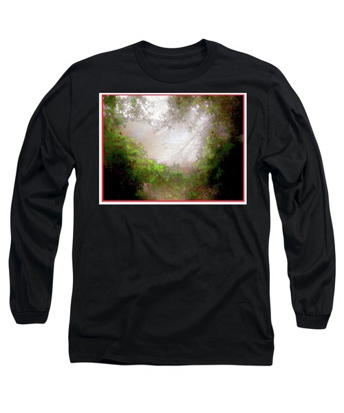 Long Sleeve T-Shirt featuring the photograph Holly Heart by Bonnie Willis
