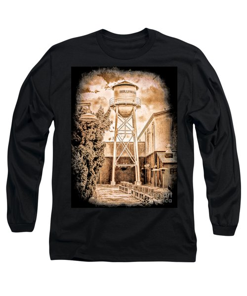 Hollywood Water Tower Long Sleeve T-Shirt