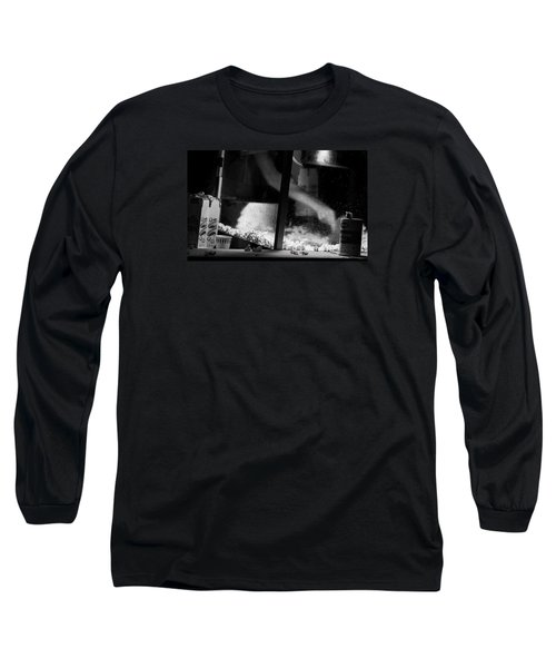 Homage To Movie Popcorn Long Sleeve T-Shirt