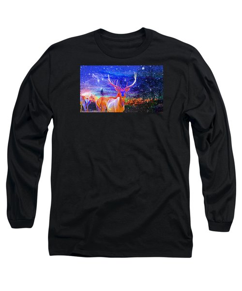 Home For The Holidays Long Sleeve T-Shirt by Mike Breau