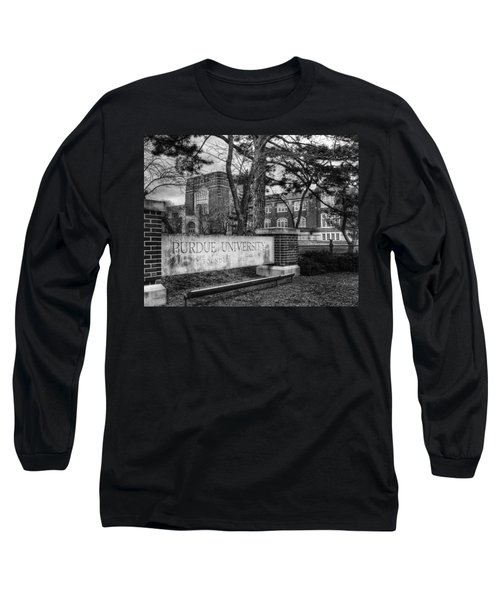 Home Of The Boilers Long Sleeve T-Shirt by Coby Cooper