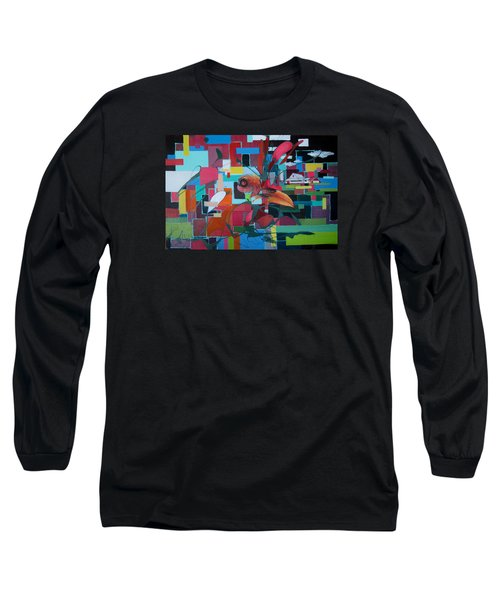 Home Of The Chicken Long Sleeve T-Shirt