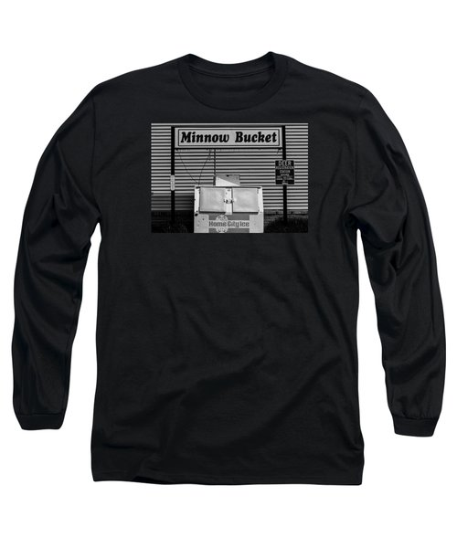 Hometown Ice Long Sleeve T-Shirt by Michael Nowotny