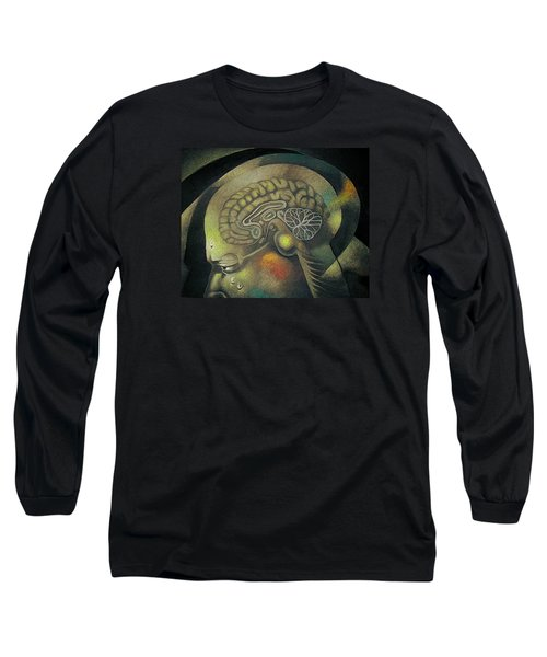 The Anxiety Of Knowledge Long Sleeve T-Shirt