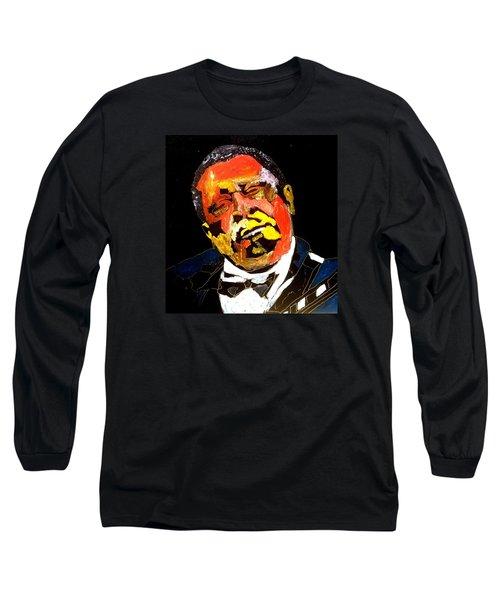 Honoring Bb King Long Sleeve T-Shirt
