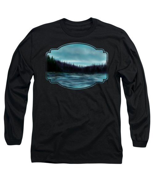 Hood Canal Puget Sound Long Sleeve T-Shirt