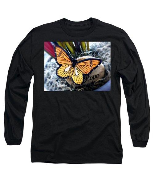 Hope Long Sleeve T-Shirt by Carlos Avila
