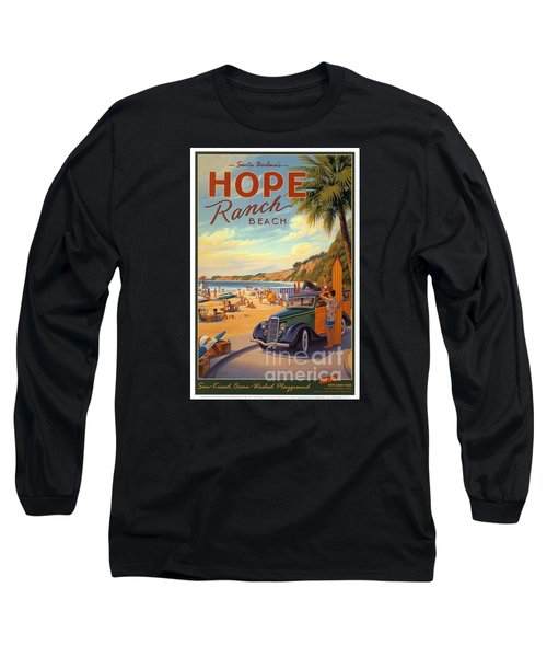 Hope Ranch Beach Long Sleeve T-Shirt