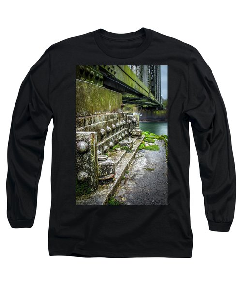 Hopedale Train Bridge Long Sleeve T-Shirt