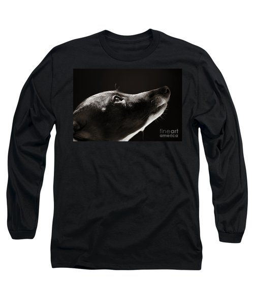 Hopeful Long Sleeve T-Shirt by Angela Rath