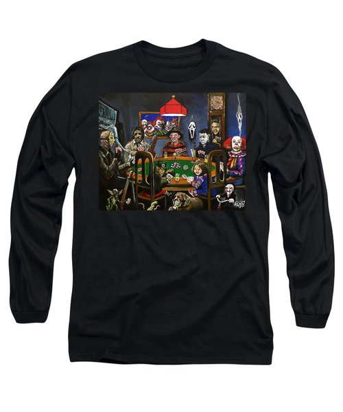Horror Card Game Long Sleeve T-Shirt