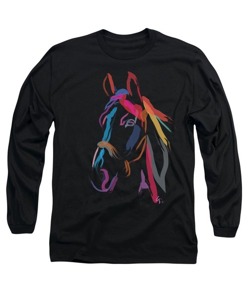 Horse-colour Me Beautiful Long Sleeve T-Shirt