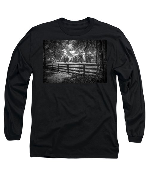 Long Sleeve T-Shirt featuring the photograph Horse Country by Louis Ferreira