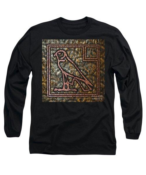 Horus Falcon Long Sleeve T-Shirt