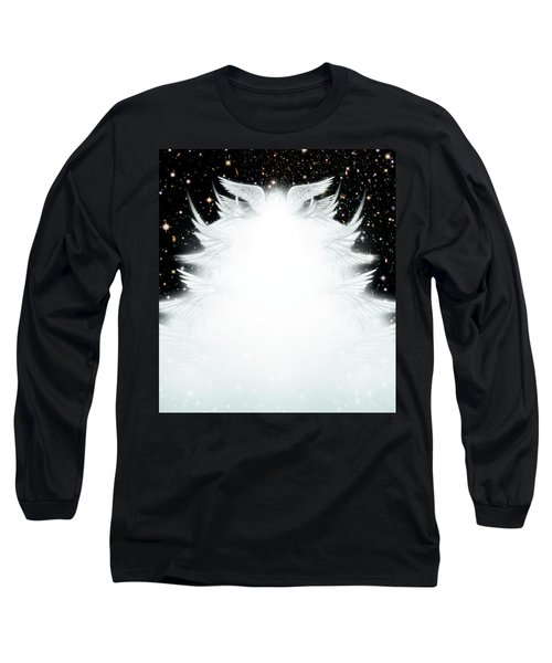 Host Of Angels Long Sleeve T-Shirt by James Larkin