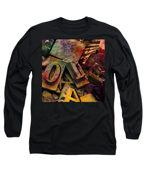 Hot Metal Type Long Sleeve T-Shirt