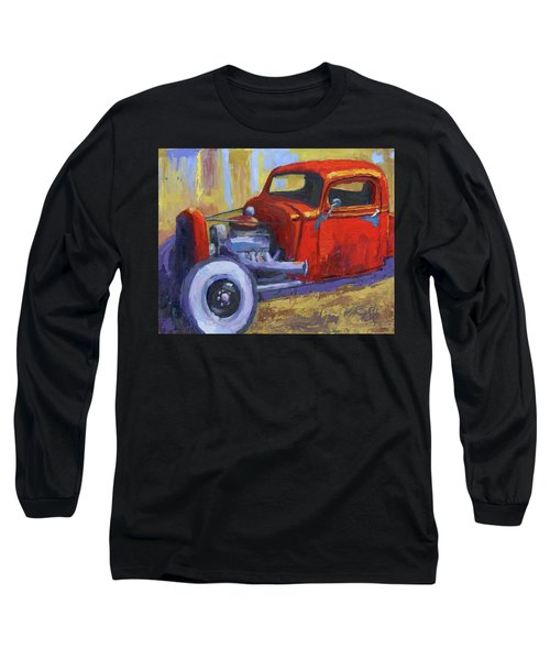 Hot Rod Chevy Truck Long Sleeve T-Shirt