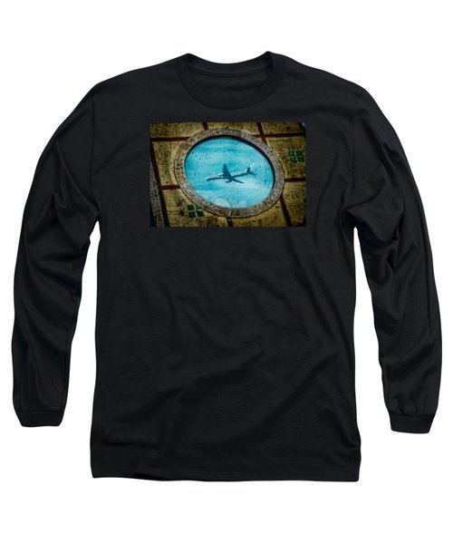 Long Sleeve T-Shirt featuring the photograph Hot Tub Flight by Harry Spitz