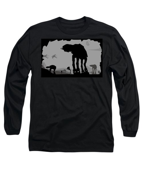 Hoth Machines Long Sleeve T-Shirt by Michael Bergman