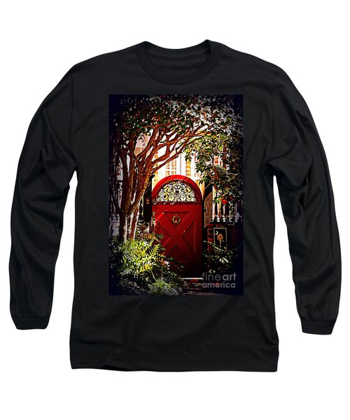 House Door 5 In Charleston Sc  Long Sleeve T-Shirt