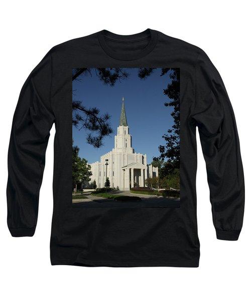 Houston Lds Temple Long Sleeve T-Shirt