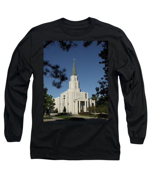 Houston Lds Temple Long Sleeve T-Shirt