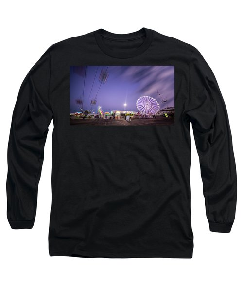 Houston Texas Live Stock Show And Rodeo #13 Long Sleeve T-Shirt by Micah Goff