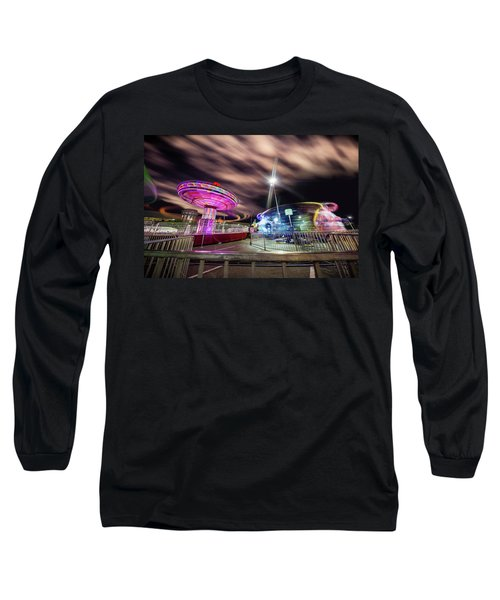 Houston Texas Live Stock Show And Rodeo #9 Long Sleeve T-Shirt by Micah Goff
